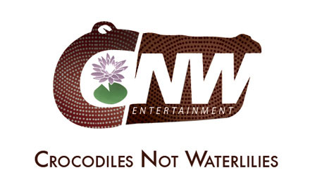 Crocoldiles Not Waterlilies Logo