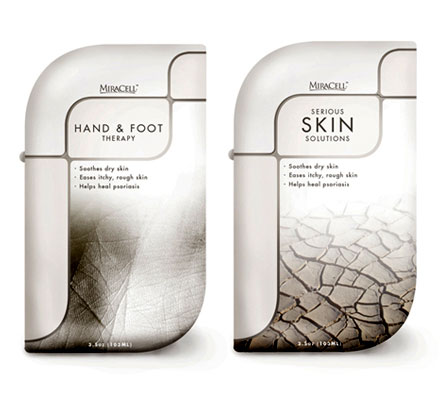 serious skin solutions packaging