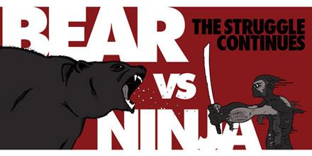 bear vs ninja