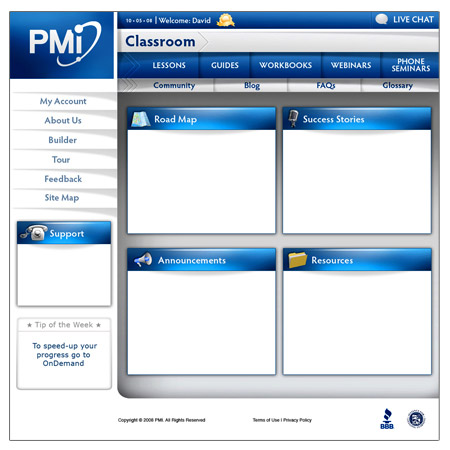 LMS Interface