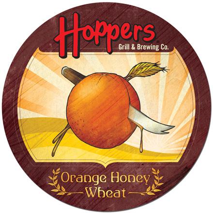 Orange Honey Wheat Coaster