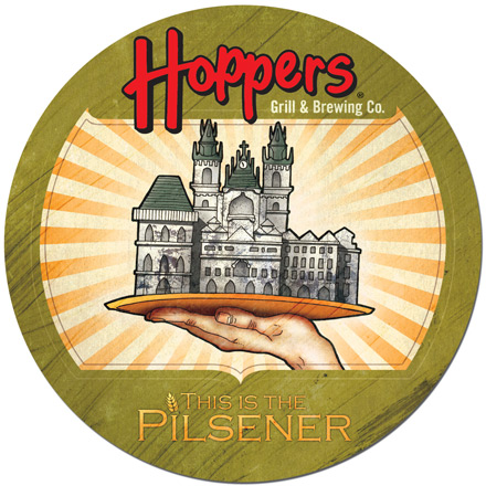 This is the Pilsener Coaster