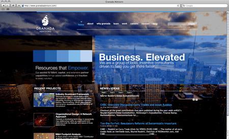 GranadaAdvisors home page