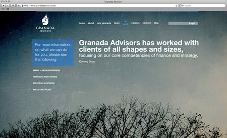 GranadaAdvisors work granada page