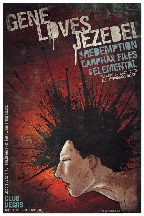 Gene Loves Jezebel poster