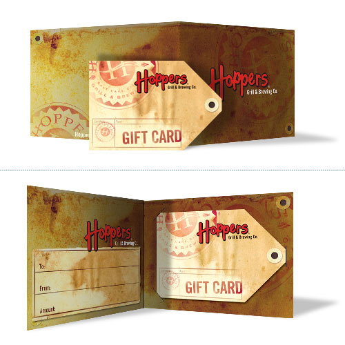 Hoppers Gift Card 2