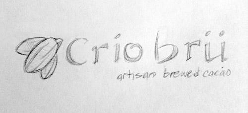 Crio Brü logo sketch