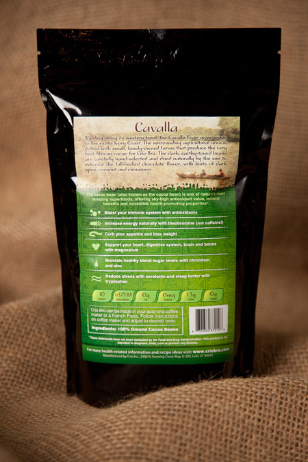 Cavalla Packaging (back)