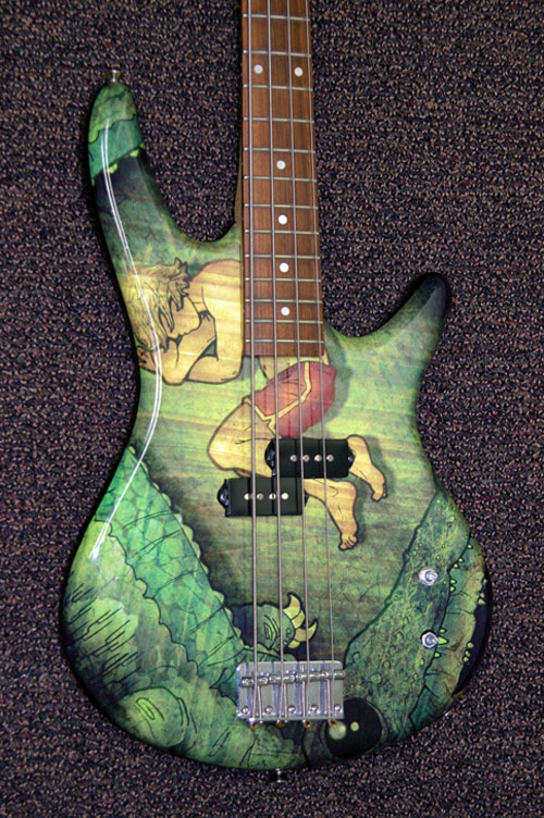 Gator Guitar Body