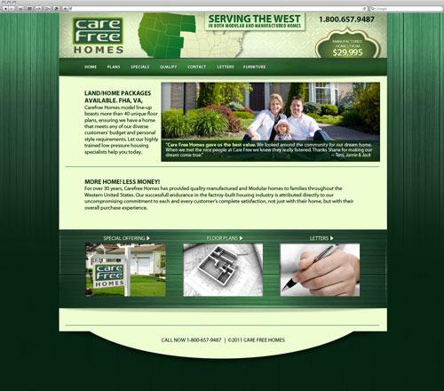 Carefree website after