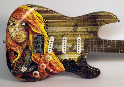 Eidola Guitar Wrap
