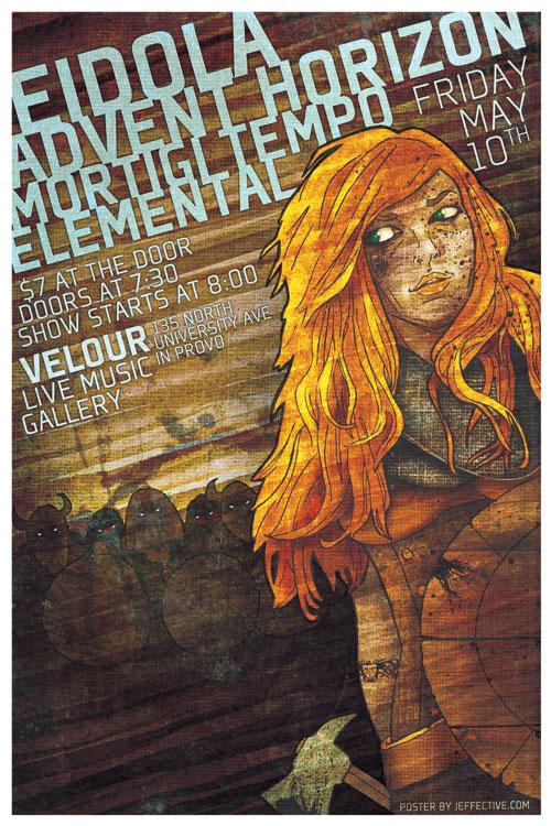 Eidola Poster Illustration