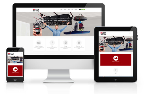 MyLifter Responsive Website