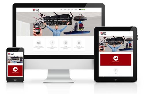 MyLifter Responsive Website